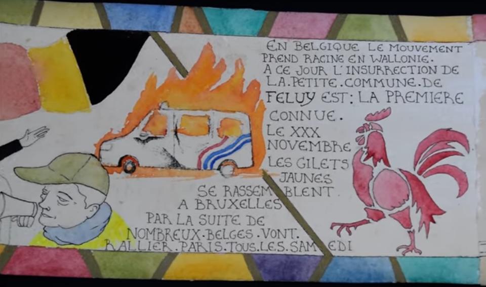 Court Métrage / / La Geste des Gilets Jaunes – » Le Roy nous fayst la guerre…»